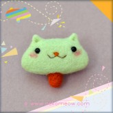 T-neko・Color Psycho - Mint Green (Brooch 别针)