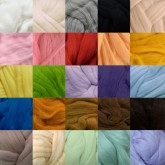 25 colors x 5g merino wool mixed pack